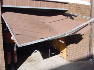 Bent Garage Door Repairs