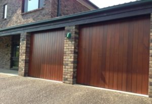 Cedar Wood Timber Tilter Garage Doors